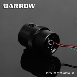 Barrow ปั้มD5 Full cover set ดำ-ฝาดำ