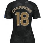 เสื้อแมนเชสเตอร์ ซิตี้ 2017 2018 CHAMPIONS 18 ชุดที่3 สำหรับผู้หญิง