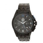นาฬิกาข้อมือแมนเชสเตอร์ ซิติ้ Stainless Steel Chronograph Watch ของแท้