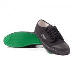 รองเท้าผ้าใบสีดำ