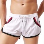 SP0023 กางเกงขาสั้นแนวสปอร์ต : สีขาว