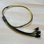 สายไฟ PSU Server สำหรับเอาไปดัดแปลง ขุดbitcoin 6pin 3หัว