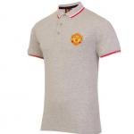 เสื้อโปโลแมนเชสเตอร์ ยูไนเต็ด Core Polo Shirt Grey Marl ของแท้