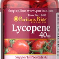 Puritan's Pride Lycopene 40 mg 60 Softgels