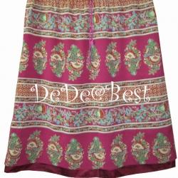 ขายแล้วค่ะ S4:Vintage skirt กระโปรงวินเทจสีชมพูลายสวย&#x2764