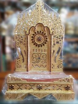 แท่นพระพม่า 19 นิ้ว (กระจก)