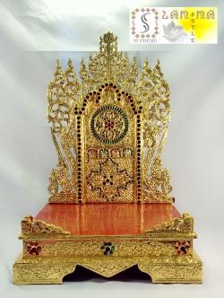 แท่นพระพม่า 17 นิ้ว (กระจก)