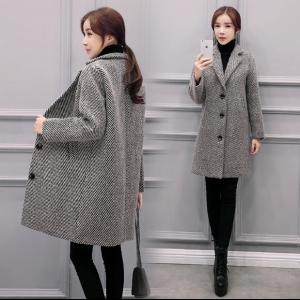 เสื้อโค้ท แฟชั่นกันหนาว สไตล์เกาหลี