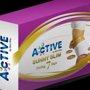 แอคทีฟ ซันนี่ สลิม (Active Sunny Slim) ผลิตภัณฑ์เสริมอาหารลดน้ำหนัก กระชับสัดส่วน ด้วยสารสกัดจากโสมเกาหลีเข้มข้น ช่วยในการกำจัดสารพิษตกค้าง และไขมันส่วนเกิน คำตอบของการควบคุมนํ้าหนักที่เห็นผลจริง