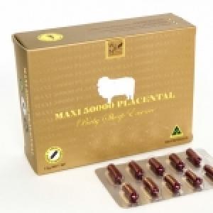 Maxi 50000 Placental รกแกะแม็กซี่ 50,000 มิลลิกรัม