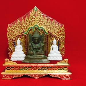 แท่นพระพม่า 17 นิ้ว (คริสตัล/พระนอน)