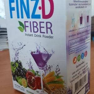 ฟินซ์ ดี ไฟเบอร์ Finz D Fiber 1 กล่องมี 5 ซอง ส่งฟรี ems