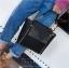 [ พร้อมส่ง ] - กระเป๋าถือ/สะพาย สีดำคลาสสิค ขนาดกลางๆ ดีไซน์สวยเรียบหรู ดูดี ไม่ซ้ำใคร งานหนังคุณภาพดีค่ะ thumbnail 4