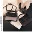 [ พร้อมส่ง ] - กระเป๋าถือ/สะพาย สีดำคลาสสิค วิ้งค์ๆโทนรุ้ง ขนาดกระทัดรัด ดีไซน์สวยเรียบหรู ดูดี งานหนังสวยค่ะ thumbnail 9