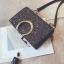 [ พร้อมส่ง ] - กระเป๋าคลัทช์ สะพาย สีเรนโบว์ หนังดำเท่ๆ ดีไซน์สวยหรู ฟรุ้งฟริ้ง วิ้งค์ๆทั้งใบ ขนาดกระทัดรัด งานสวยมากๆค่ะ สำเนา thumbnail 25