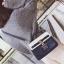 [ Pre-Order ] - กระเป๋าถือ/สะพาย สีน้ำเงิน ดีไซน์สวยน่ารัก ฟรุ้งฟริ้ง ใบกลางๆ ตกแต่งแม่กุญแจเก๋ๆ งานสวยไม่เหมือนใคร thumbnail 4