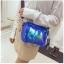 [ พร้อมส่ง ] - กระเป๋าคลัทช์ สะพาย สีน้ำเงินโฮโลแกรม ดีไซน์สวยเก๋เท่ๆ รับสงกรานต์ งานสวยโดดเด่น ขนาดกระทัดรัด งานสวยมากๆค่ะ สำเนา thumbnail 14