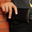 HAPPY กระเป๋าหนังคาดเอว เคส ซอง ไซด์ XXL แนวนอน สำหรับ Samsung Galaxy A7 / E7 thumbnail 4