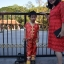ชุดตรุษจีน กางเกงขายาวเอวยางยืด สวมใสสบาย thumbnail 3
