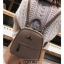 [ พร้อมส่ง Hi-End ] - กระเป๋าเป้แฟชั่น สีกากีเข้ม ดีไซน์สวยเรียบหรู ดูดีสไตล์แบรนด์ งานหนังคุณภาพดี ช่องเยอะงานสวย thumbnail 3