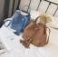 [ พร้อมส่ง ] - กระเป๋าถือ/สะพาย สีฟ้า ทรงขนมจีบตั้งได้ ดีไซน์สวยเรียบหรู ปีกหมุดเท่ๆ ใบกลางๆ งานหนังคุณภาพสวยมากค่ะ thumbnail 2