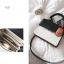 [ พร้อมส่ง ] - กระเป๋าถือ/สะพาย สีทูโทนขาวดำ ทรงกล่องขนาดกระทัดรัด ห้อยป้ายเก๋ๆ ดีไซน์สวยเรียบหรู ดูดี งานหนังคุณภาพดี ช่องใส่ของ 3 ช่อง thumbnail 23