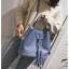 [ พร้อมส่ง ] - กระเป๋าถือ/สะพาย สีฟ้า ทรงขนมจีบตั้งได้ ดีไซน์สวยเรียบหรู ปีกหมุดเท่ๆ ใบกลางๆ งานหนังคุณภาพสวยมากค่ะ thumbnail 8
