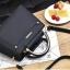 [ พร้อมส่ง ] - กระเป๋าแฟชั่น ถือ/สะพาย สีดำ ขนาดกระทัดรัด หนังสวยอยู่ทรงสวย ดีไซน์สวยเก๋ ดูดี งานหนังสวยมากค่ะ thumbnail 7