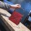 [ พร้อมส่ง ] - กระเป๋าถือ/สะพาย สีแดง วิ้งค์ๆ ขนาดใบเล็กๆ กระทัดรัด ดีไซน์สวยเก๋หัวบิดเปิดกระเป๋า ดูดี งานสวยน่ารักค่ะ thumbnail 6