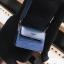 [ พร้อมส่ง ] - กระเป๋าถือ/สะพาย สีน้ำเงินเข้ม วิ้งค์ๆ ขนาดกระทัดรัด ดีไซน์สวยเรียบหรู ดูดี งานหนังสวยค่ะ thumbnail 1