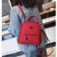 [ พร้อมส่ง Hi-End ] - กระเป๋าเป้แฟชั่น สีแดง ดีไซน์สวยเรียบหรู ดูดีสไตล์แบรนด์ งานหนังคุณภาพดี ช่องเยอะงานสวย thumbnail 8