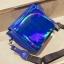 [ พร้อมส่ง ] - กระเป๋าคลัทช์ สะพาย สีน้ำเงินโฮโลแกรม ดีไซน์สวยเก๋เท่ๆ รับสงกรานต์ งานสวยโดดเด่น ขนาดกระทัดรัด งานสวยมากๆค่ะ สำเนา thumbnail 17
