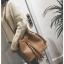 [ พร้อมส่ง ] - กระเป๋าถือ/สะพาย สีน้ำตาลเรโทร ทรงขนมจีบตั้งได้ ดีไซน์สวยเรียบหรู ปีกหมุดเท่ๆ ใบกลางๆ งานหนังคุณภาพสวยมากค่ะ thumbnail 6