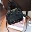 [ พร้อมส่ง ] - กระเป๋าถือ/สะพาย สีดำ ดีไซน์สวยหรู ฟรุ้งฟริ้ง วิ้งค์ๆทั้งใบ ใบกลางๆ ห้อยดาว งานสวยมาก thumbnail 9