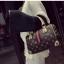 [ พร้อมส่ง Hi-End ] - กระเป๋าถือ/สะพาย ทรงหมอนใบกลางๆ สีดำ ลาย LV ดีไซน์สวยเรียบหรู ดูดีสไตล์แบรนด์ งานหนังคุณภาพดีแบบหนาไม่บาง thumbnail 9