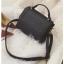 [ พร้อมส่ง ] - กระเป๋าถือ/สะพาย สีดำคลาสสิค ขนาดกระทัดรัด ดีไซน์สวยเรียบหรู ดูดี งานหนังแบบด้าน คุณภาพดีค่ะ thumbnail 11