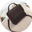 [ พร้อมส่ง ] - กระเป๋าถือ/สะพาย สีดำคลาสสิค ขนาดกระทัดรัด ดีไซน์สวยเรียบหรู ดูดี งานหนังแบบด้าน คุณภาพดีค่ะ thumbnail 8