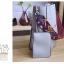 [ พร้อมส่ง ] - กระเป๋าสะพายไหล่แฟชั่น สีน้ำตาลเรโท ทรงถัง + กระเป๋าใบเล็ก 1 ใบ ดีไซน์สวยเรียบหรู ดูดี งานหนังคุณภาพดี พร้อมสายสะพายสุดเก๋ thumbnail 14