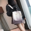 [ พร้อมส่ง ] - กระเป๋าเป้แฟชั่น สีทูโทนเทา สุดเท่เก๋ๆ ดีไซน์สวยเก๋ไม่ซ้ำใคร สวยสุดมั่น เหมาะกับสาว ๆ ที่ชอบกระเป๋าเป้น้ำหนักเบาๆ สำเนา thumbnail 3