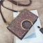 [ พร้อมส่ง ] - กระเป๋าคลัทช์ สะพาย สีเรนโบว์ หนังน้ำตาลเท่ๆ ดีไซน์สวยหรู ฟรุ้งฟริ้ง วิ้งค์ๆทั้งใบ ขนาดกระทัดรัด งานสวยมากๆค่ะ thumbnail 31