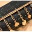 [ พร้อมส่ง ] - กระเป๋าคลัทช์ สะพาย สีดำ ดีไซน์สวยหรู ฟรุ้งฟริ้ง วิ้งค์ๆทั้งใบ ขนาดกระทัดรัด งานสวยมากๆค่ะ thumbnail 19