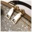 [ พร้อมส่ง ] - กระเป๋าถือ/สะพาย สีดำ ดีไซน์สวยหรู ฟรุ้งฟริ้ง วิ้งค์ๆทั้งใบ ใบกลางๆ ห้อยดาว งานสวยมาก thumbnail 15