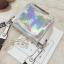 [ พร้อมส่ง ] - กระเป๋าคลัทช์ สะพาย สีโฮโลแกรม ดีไซน์สวยเก๋เท่ๆ รับสงกรานต์ งานสวยโดดเด่น ขนาดกระทัดรัด งานสวยมากๆค่ะ thumbnail 22