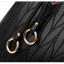 [ พร้อมส่ง ] - กระเป๋าแฟชั่น ถือ/สะพาย สีดำ ใบใหญ่ทรงตั้งได้ ดีไซน์สวยเรียบหรู ดูดี งานหนังอัดลายสวยค่ะ thumbnail 16