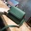 [ พร้อมส่ง ] - กระเป๋าถือ/สะพาย สีเขียวเข้ม ขนาดกระทัดรัด ดีไซน์สวยเรียบหรู ดูดี งานหนังแบบด้าน คุณภาพดีค่ะ thumbnail 1