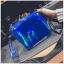 [ พร้อมส่ง ] - กระเป๋าคลัทช์ สะพาย สีน้ำเงินโฮโลแกรม ดีไซน์สวยเก๋เท่ๆ รับสงกรานต์ งานสวยโดดเด่น ขนาดกระทัดรัด งานสวยมากๆค่ะ สำเนา thumbnail 9