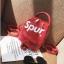 [ พร้อมส่ง ] - กระเป๋าเป้แฟชั่น สไตล์ยุโรป สีแดง Spur ใบเล็กกระทัดรัด ดีไซน์สวยเก๋ไม่ซ้ำใคร เหมาะกับสาว ๆ ที่กำลังมองหากระเป๋าเป้ใบจิ๋ว thumbnail 22