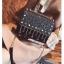 [ Pre-Order Hi-End ] - กระเป๋าคลัทช์ สะพาย สีดำ ดีไซน์สวยหรู ฟรุ้งฟริ้ง วิ้งค์ๆทั้งใบ ขนาดกระทัดรัด thumbnail 5