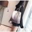 [ พร้อมส่ง ] - กระเป๋าเป้แฟชั่น สีทูโทนเทา สุดเท่เก๋ๆ ดีไซน์สวยเก๋ไม่ซ้ำใคร สวยสุดมั่น เหมาะกับสาว ๆ ที่ชอบกระเป๋าเป้น้ำหนักเบาๆ สำเนา thumbnail 12
