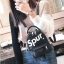 [ พร้อมส่ง ] - กระเป๋าเป้แฟชั่น สไตล์ยุโรป สีดำ Spur ใบเล็กกระทัดรัด ดีไซน์สวยเก๋ไม่ซ้ำใคร เหมาะกับสาว ๆ ที่กำลังมองหากระเป๋าเป้ใบจิ๋ว thumbnail 4